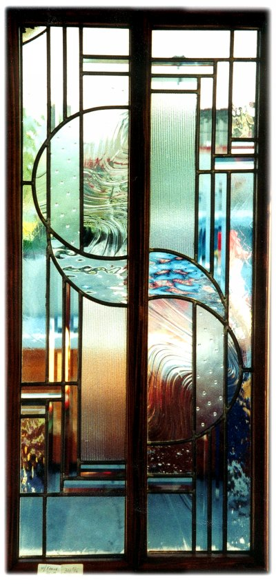 Magnificent Stained Glass Front Door with Side Lights 400 x 846 · 91 kB · jpeg