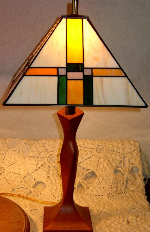 Studios stained glass lamps mission style lamp mozeypictures Gallery